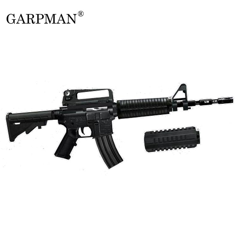 1:1 Scale 3D Paper Model Weapon Magazine M4A1 Assault Rifle Gun Model DIY Puzzle Toy 1 3 stainless steel ak47 assault rifle display model toy black silver coffee