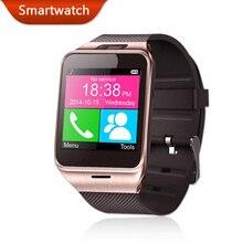 Bluetooth Смарт Часы Здоровье Mp3 Водонепроницаемый Шагомер Андроид Smartwatch Gv18 с Sim-карты Мобильного GSM Носимых Устройств Телефон