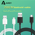 AUKEY 2m Micro USB Cable Universal Charging Adapter Quick Charge Cable for Xiaomi Samsung galaxy S6 7 S5 Sony Redmi Smartphone