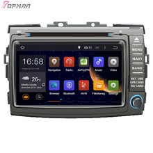 "Topnavi 8 ""octa Core 2 GB RAM Android 6.0 car Radios estéreo GPS para Toyota previa/estima/ tarago/canarado 2006-reproductor de DVD de audio"