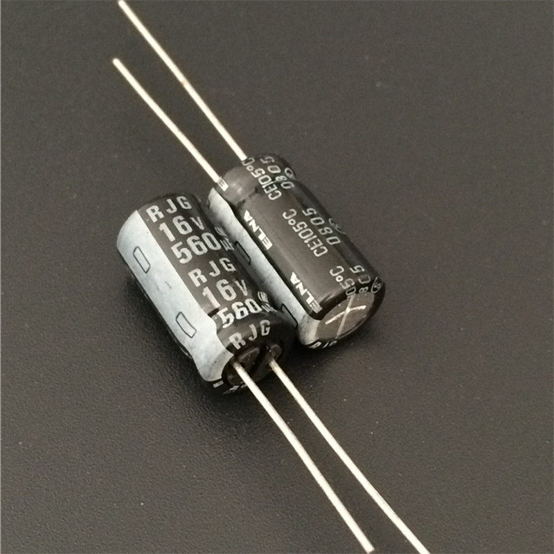 10pcs 680uF 50V Japan ELNA RJH 16x20mm 50V680uF Low Impedance Audio Capacitor