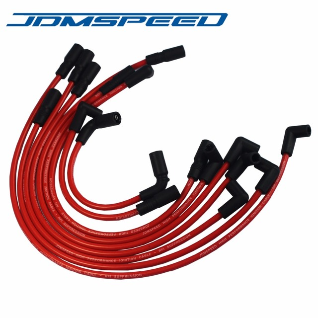 Free Shipping JDMSPEED High Performance Spark Plug Wire Fit For GMC ...