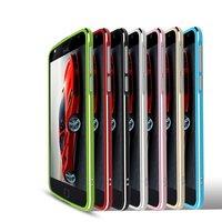 High Quality Ultra Thin Slim Aluminum Metal Bumper Frame Case For Motorola Moto Z Moto X4