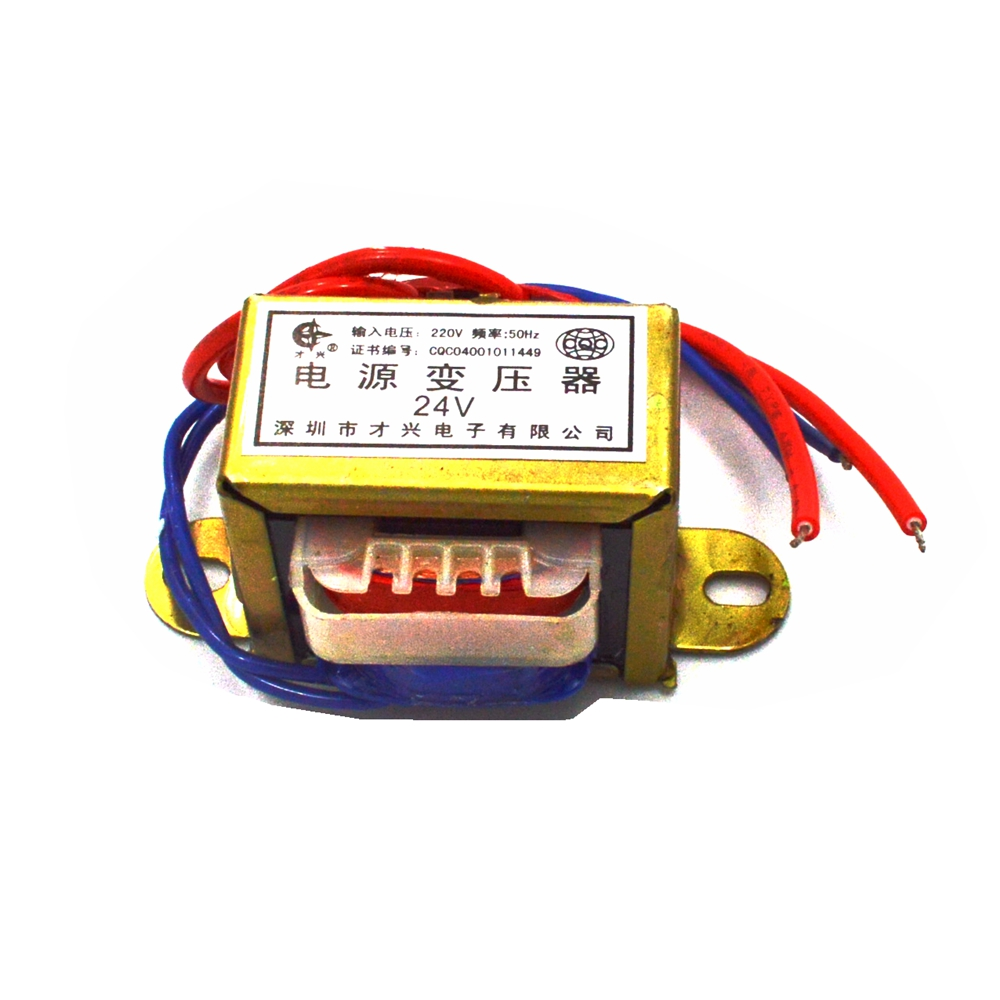 EI41*20 Single Output Voltage 5W EI Ferrite Core Input 220V 50Hz Vertical Mount Electric Power transformer