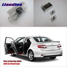 Автомобильные огни на двери для Toyota Corolla 2007~ /Previa 2006~ 2012 дверная лампа/светодиодный проектор, приветственный светильник