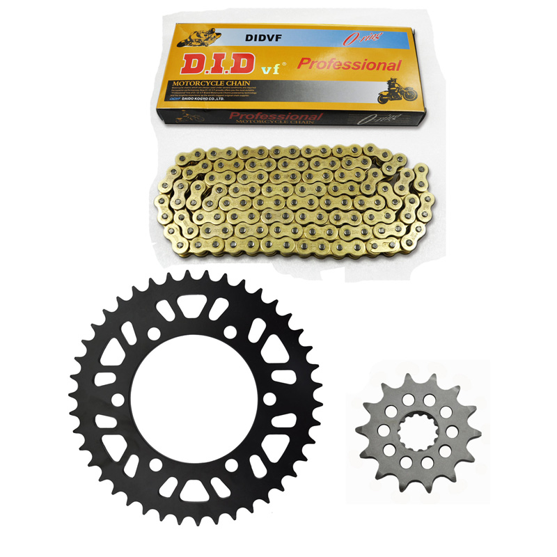 MOTORCYCLE 520 CHAIN Front & Rear SPROCKET Kit Set FOR YAMAHA ROAD  YZF-R3 2015,MT-03 (MTN320-A) B082  2016 цена 2016