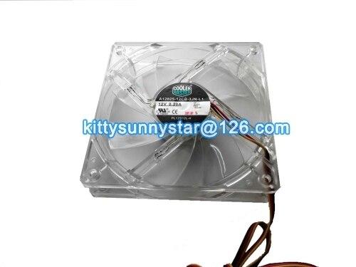 Neue Original Cooler Master 12025 A12025-12CB-3JN-L1 PL12S12L-4 12 V 0.2A 3 Wire Gehäuselüfter