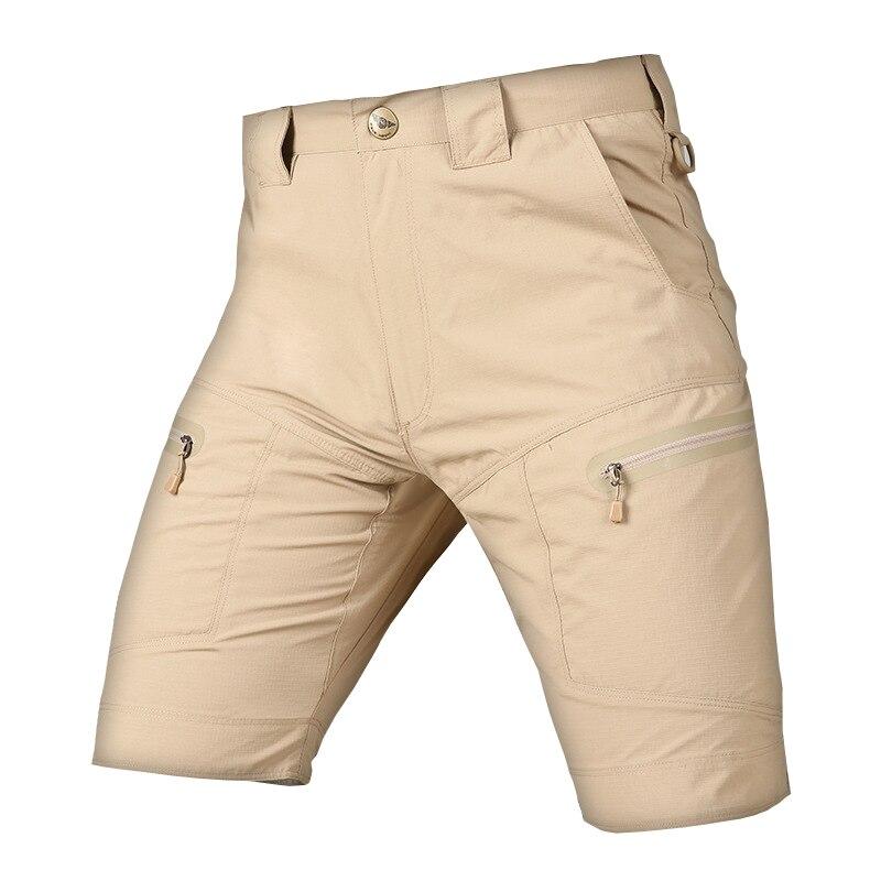 Estate Uomini Asciutta Rapida Esterna Traspirante Pantaloncini Elastici Formazione Caccia Di Campeggio Urbana Swat Tattico Di Combattimento Cargo Pantaloni Corti Pregevole Fattura