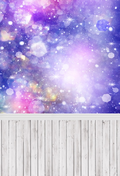 8 ft x 10 ft Bokeh patterns Vinyl photography backdrops fabric printing Wood photographic background F-359