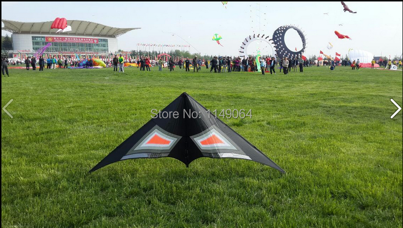 free shipping high quality rocking dual line stunt kites sports ripstop nylon fabric kite kite accessories flying bird kites