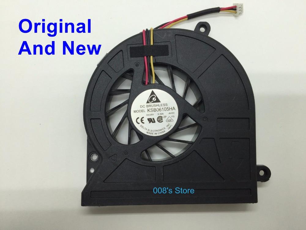 Nouvel Ordinateur Portable ventilateur refroidisseur de processeur Pour Toshiba Satellite C600 C600D C645 C650 C655 C660 L630-06S L630-02S L630-08R L650 Pour DELTA 3 Broches