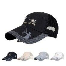 Унисекс Мужчины Женщины Регулируемая Рыбалка Кепка для гольфа с застежкой сзади Спортивная шляпа солнцезащитный козырек