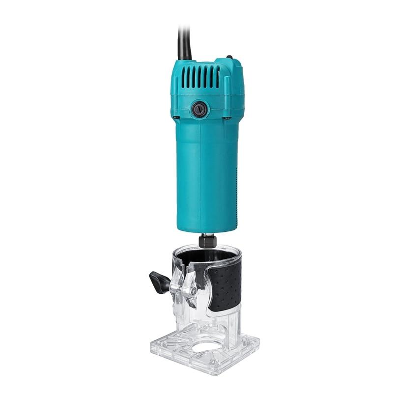 כלים יד Eu Plug, 220V 1200W 1/4 Carving אינץ מכונת אדג גוזם כלים Power 35000R / מינ חשמלי יד גוזם עץ למינציה נתב אד (2)