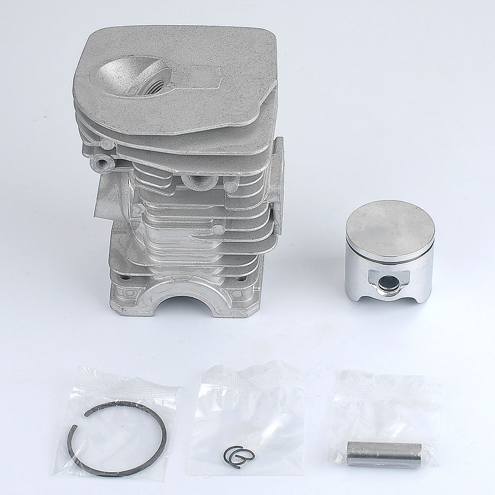 New Cylinder Kit Piston Ring 503 87 02 76 503870276 Fit HUSQVARNA 340 345 42mm HIGH Fast Shipping new savior carburetor carb cylinder piston kits for husqvarna 340 345 chainsaw parts 503283208 503 28 32 08