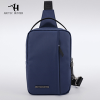 Brand New Multi functional Chest Bag Large Capacity Waterproof Sling Bag Man Shoulder Messenger Bag Casual Crossbody Bags