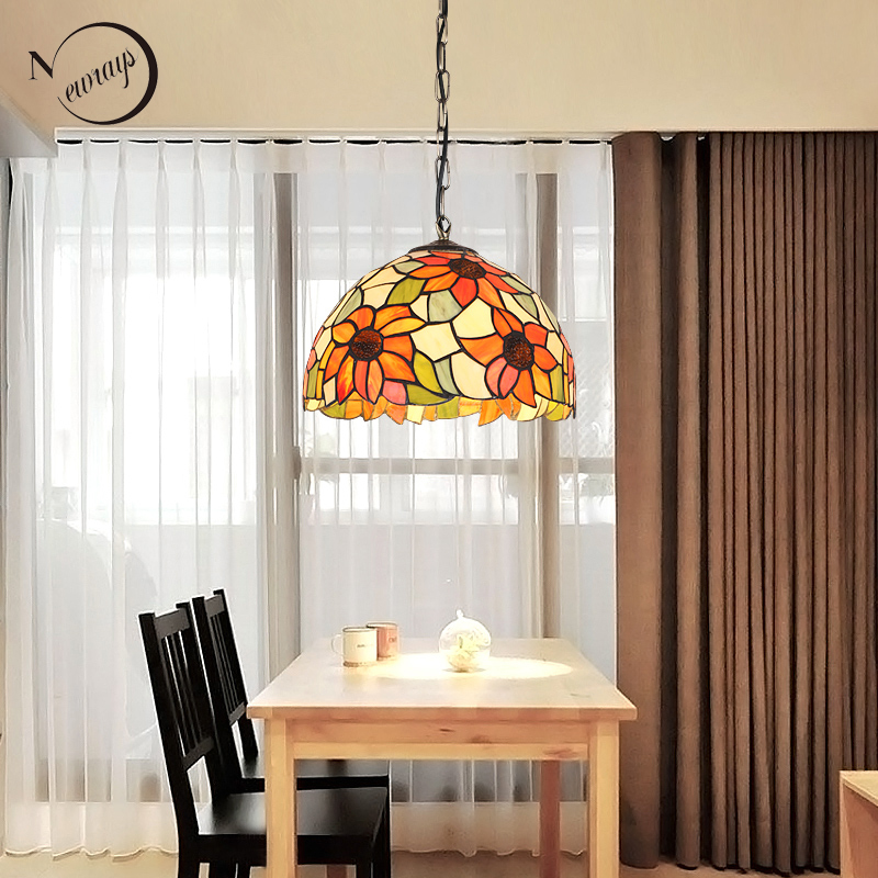 Art deco pastoral modern glass pendant light LED E27 Europe vintage hanging lamp for living room loft bedroom kitchen restaurant industrial art deco iron black pendant light led e27 loft vintage hanging lamp with switch for living room restaurant bedroom