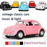 6 teile/los Kostenloser versand vintage oldtimer modell legierung spielzeug baby bildungs modelle Großhandel