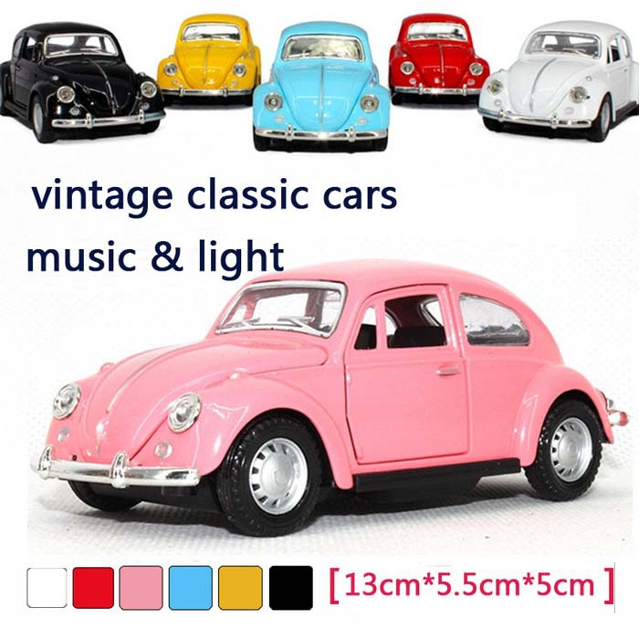 Online Shop 6pcs/lot Free shipping vintage classic cars model alloy ...