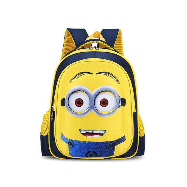 Minion Backpack Kids School Bags For Boys Schoolbag Backpacks Deable Me