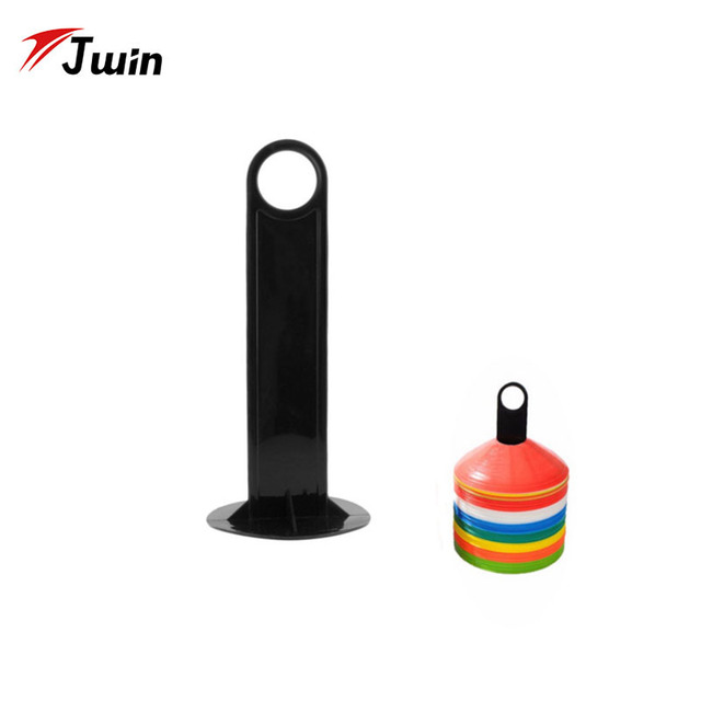 Soccer Football Shelf Accessories Parts Plastic Handy Soccer Drill Agility Training Marker Disc Cone Holder Carrier Caddy Sport