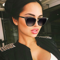 Winla Cat Eye Sunglasses Elegant Summer Style Sunglasses Shades Women Brand Designer Female Sunglasses Gafas De
