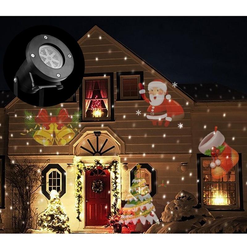 Projection Projector Light Waterproof Laser Spotlight for Christmas - Holiday Lighting