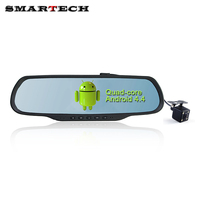5 Inch Drive Recorder Touch Screen Android Car Dash Cam Dual Lens HD 1080P DVR Blackbox
