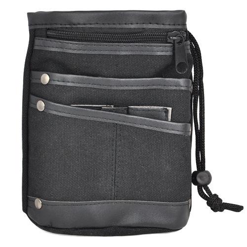 все цены на Casual Canvas durable men Waist Bag Multi Pocket Fanny Pack storage bags