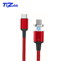 Type C 5A Magnet Data Cable Supports PD QC3.0 USB C Fast Charging High Data Transmission For Macbook Charging High Quality Cable