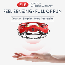 Mini RC Drone Flying RC Helicopter Aircraft Dron Infrared Induction LED Light Remote Control Drone Kids Toys