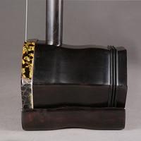 Erhu Handmade Chinese National Musical Instruments Black Rosewood Chinse Violin String Instruments