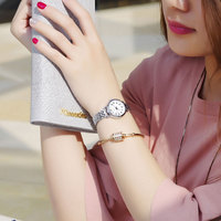 KIMIO marke frauen quarz uhren kleid analog uhren mode armband uhren gold legierung fall armbanduhr heiße mädchen geschenk uhr|clock brand|clock fashionclock girl -