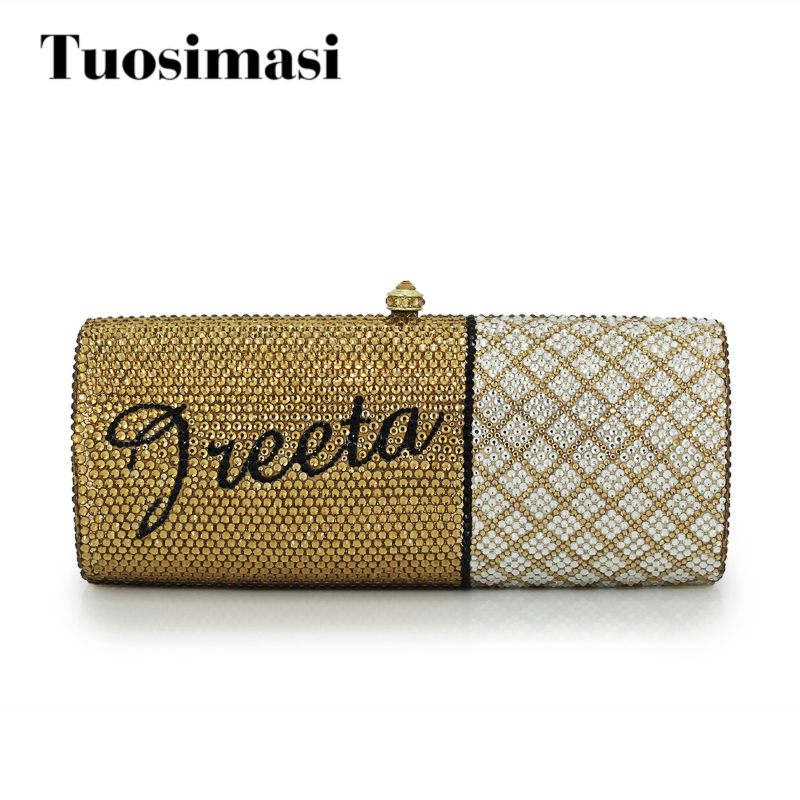 women custom name crystal big diamond clutch crossbody chain bag women handbags evening clutch bag(1001BG) women custom name crystal big diamond clutch crossbody chain bag women handbags evening clutch bag 1001bg