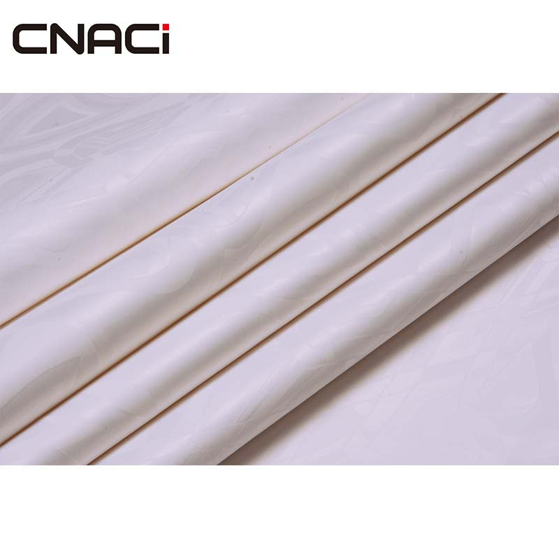 CNACI neige blanc Bazin Riche allemagne qualité 10 Yards/sac guinée brocart africain vêtement tissu Jacquard Shadda damassé tissu