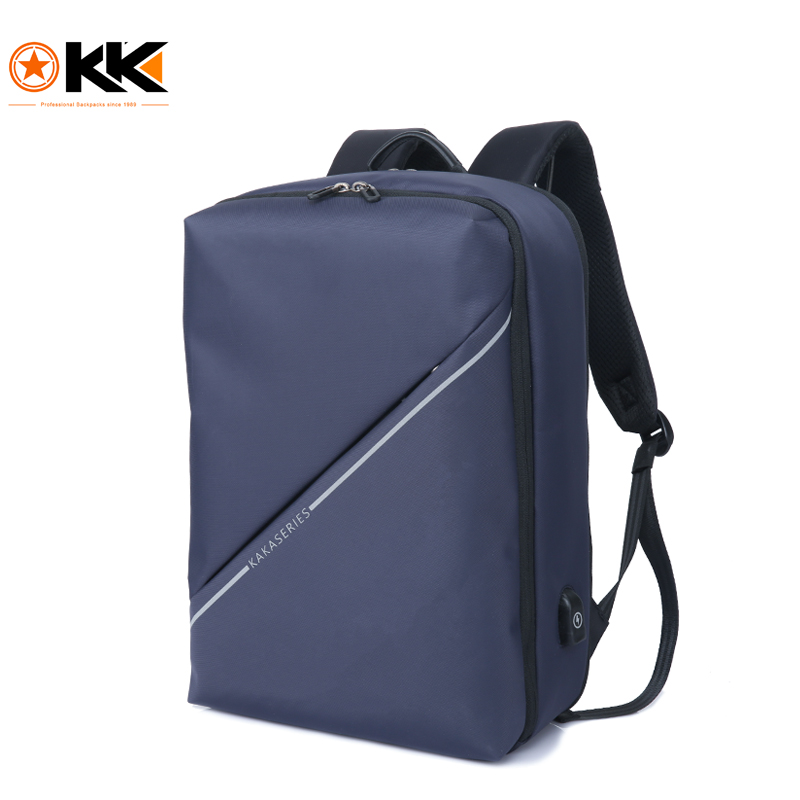 KAKA Brand Fashion Men Backpack High Quality Travel Bag Large Capacity for 15.6 inch Laptop Backpack and School Bag for Teenager