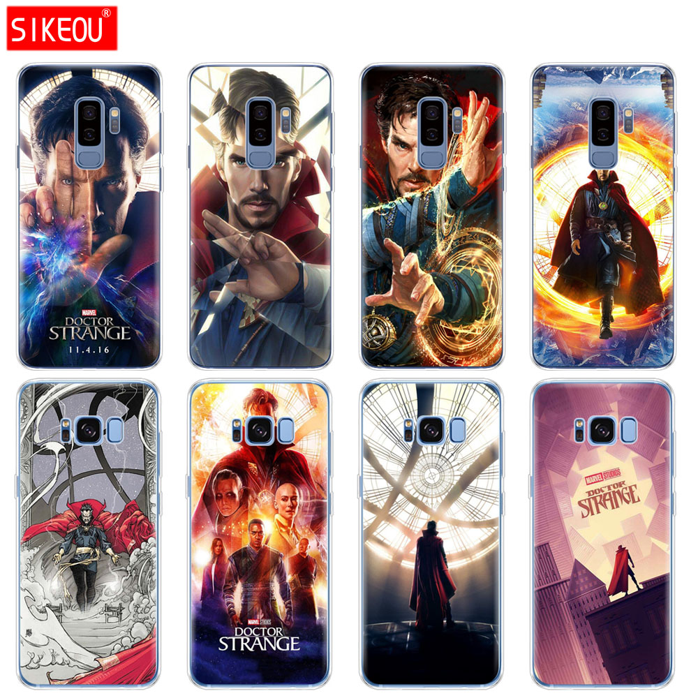 Phone Bags & Cases Cellphones & Telecommunications Silicone Case For Samsung Galaxy S9 S8 S7 S6 Edge S5 S4 S3 Plus Phone Cover Marvel Doctor Strange Reliable Performance