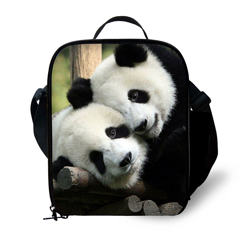 Zoo animals Insulated Lunch Cooler Kids Cool Animal Lunch Box Bags Mens Work Lunch Container Insulated Food Bag for Girls School