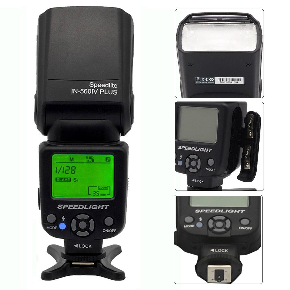 Nový INSEESI IN 560 IV IN-560IV PLUS nebo Viltrox JY-680A Bleskový - Videokamery a fotoaparáty - Fotografie 3