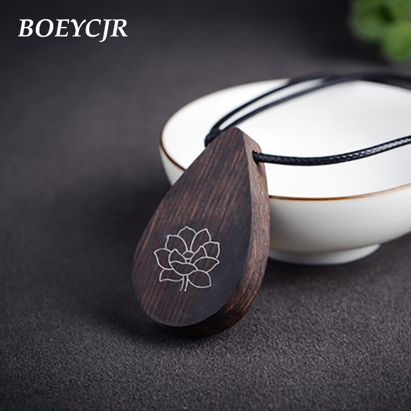 BOEYCJR Yoga Jewelry Meditation Wood Necklace Chain Handmade Jewelry Ethnic Pendant Necklace for Men and Women Gift 2018 boeycjr yoga jewelry meditation wood necklace chain handmade jewelry ethnic pendant necklace for men and women gift 2018