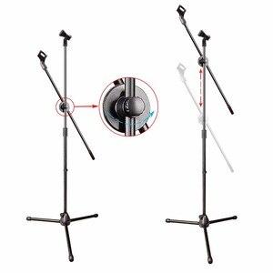 Image 5 - Freeboss MS 017 elastyczny mikrofon na scenie stojak na statyw mikrofon podłogowy stojak na mikrofon radiowy
