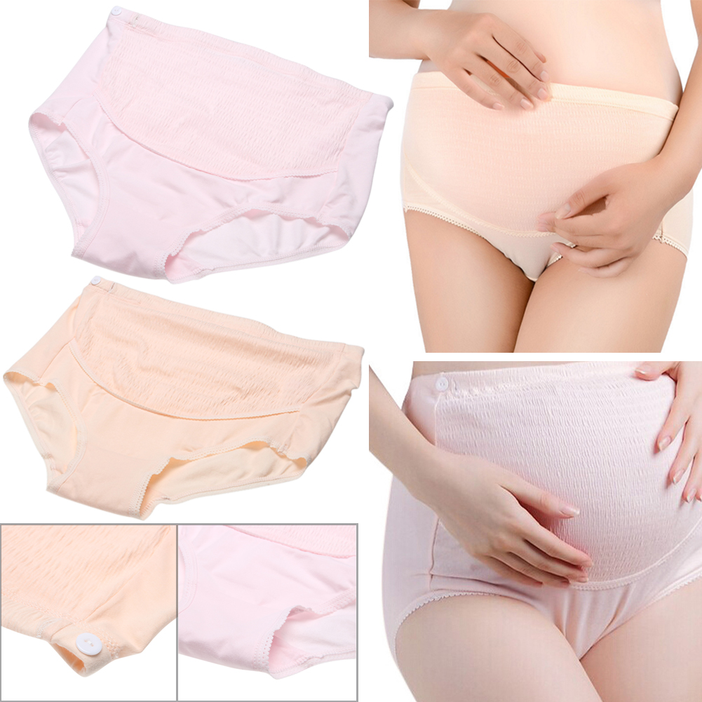 Abdomen Adjustable High Waist Belly Support Panties Maternity Soft Cotton Pregnant Women Underwear For Maternity Clothes stretched high waist abdomen shapping natural cotton briefs hiphugger