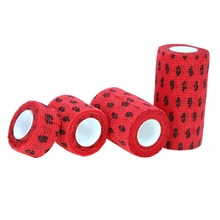 Outdoor Medical Bandage first aid kit Colorful Pet Bandage Adhesive elastic bandage Self adhesive breathable Tape