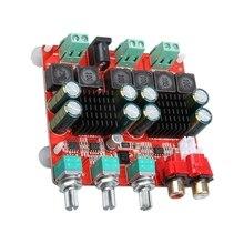 Tpa3116 2,1 усилитель мощности плата 2X50+ 100 Вт Цифровой усилитель мощности плата 2,1 Усилитель мощности динамика плата Hf65B A4-013