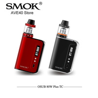 100 Original SMOK OSUB 80W TC Plus Starter Kit OSUS Plus 3300mAh Battery MOD With 3