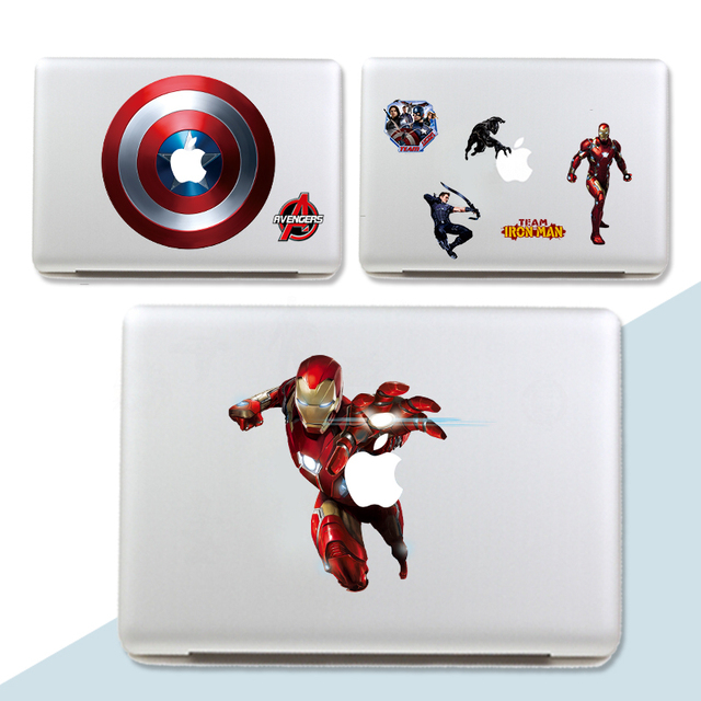 The Avengers Cartoon DIY Captain America Wall Stickers For Kids - Superhero wall decals for kids rooms