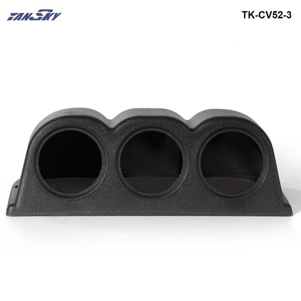 "52mm 2/"" Universal Car 3 Triple Hole Meter Panel Dash Gauge Mount Holder Pod ABS"