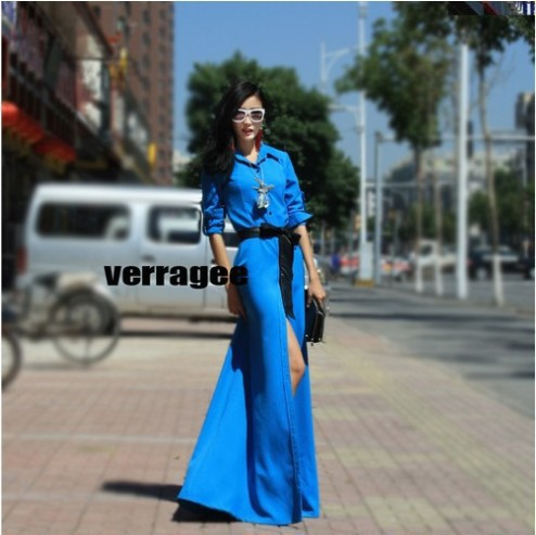 Verragee 2013 Spring Women New European And American Vintage Dress