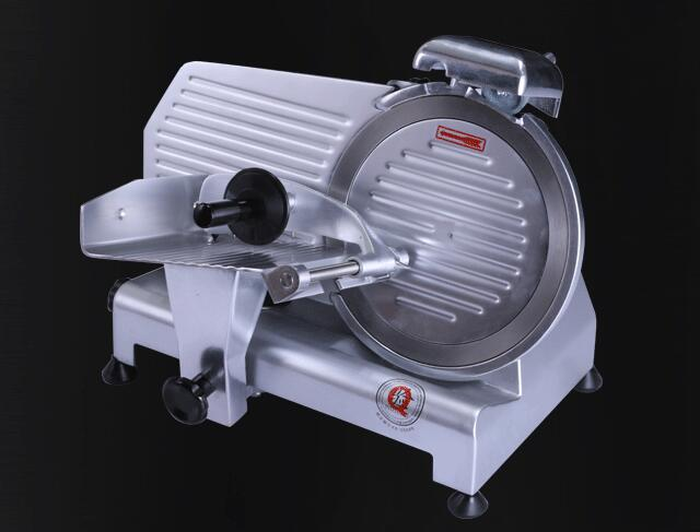 Free Shipping Cost, 8 inch Semi-Automatic Frozen meat Slicer Bacon slice 0-10MM blades adjustable free shipping electric 220v frozen meat