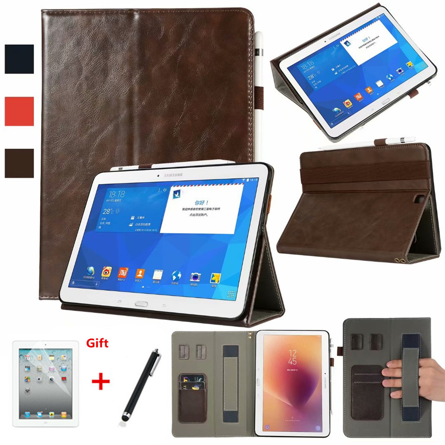 Case For Samsung Galaxy Tab S2 9.7 T810 T813N T815 T819 SM-T810 Cover Funda Tablet PU Leather Hand Holder Stand Shell