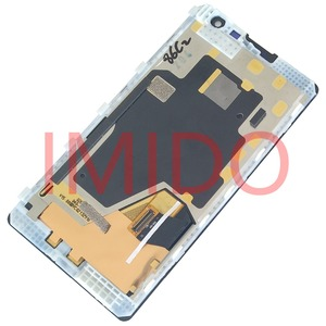 Image 5 - Nokia Lumia 1020 için RM 875 lcd ekran + dokunmatik ekranlı sayısallaştırıcı grup + Çerçeve Yedek Parçaları